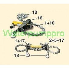 MS-series, chains and attachments for pulling